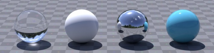 The result of the image on spheres