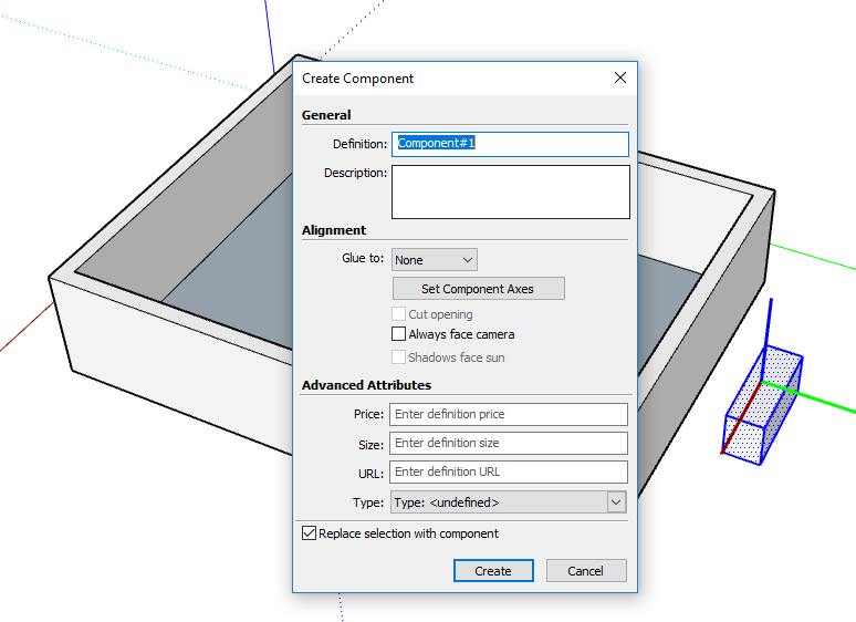 SketchUp Tutorial | COMPONENT